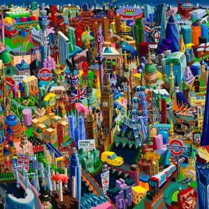 London - Exciting Cities, by Vuk Vučković