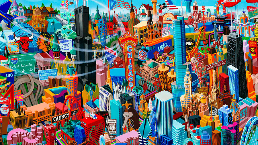 Chicago - Art Prints - Limited Edition