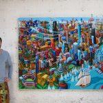 Chicago - artist & painting 2017 - WolfArt.studio - Vuk Vuckovic